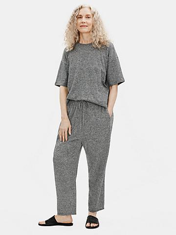 Organic Cotton Hemp Melange Slouchy Pant