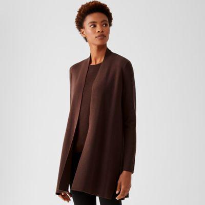 Ultrafine Merino Long Cardigan in Responsible Wool