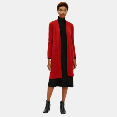 Ultrafine Merino Cardigan in Responsible Wool