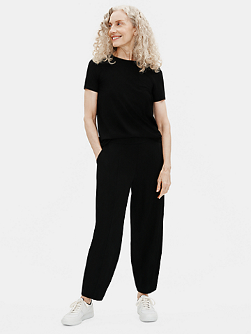 Traceable Organic Cotton Stretch Lantern Pant