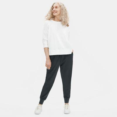 Cotton Stretch Jersey Jogger Pant