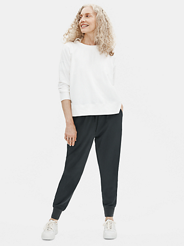 Cotton Stretch Jersey Jogger Pant