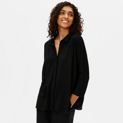 Organic Cotton Easy Jersey 3/4-Sleeve Shirt