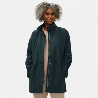 Recycled Polyester Anorak Coat