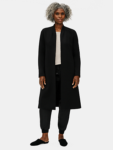 Flex Ponte Long Jacket