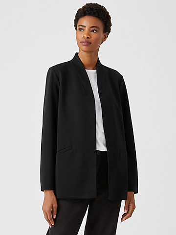 Flex Ponte High Collar Jacket