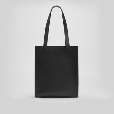 Vegetable Tanned Italian Leather Market Tote