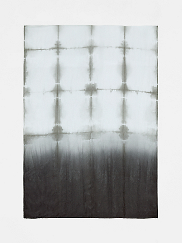 Silk Shibori Windows Scarf