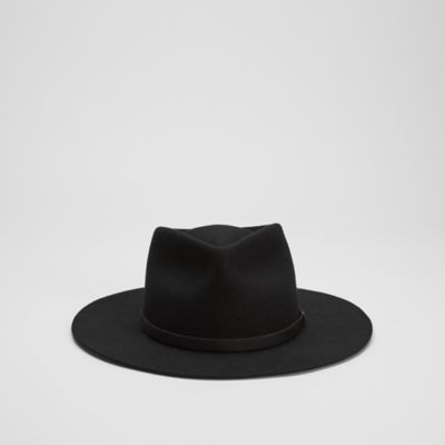 Wool Brimmed Hat by Yellow 108 for EILEEN FISHER