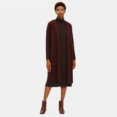 Lightweight Boiled Wool Hooded Jacket in Responsible Wool