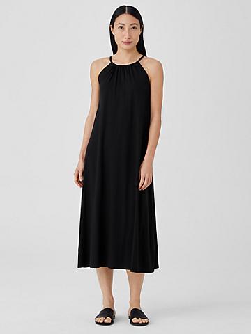 Fine Jersey Halter Dress