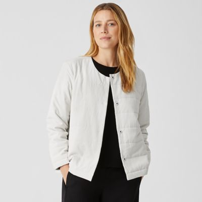 Fuji Silk Quilted Jacket