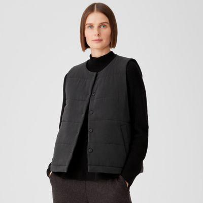 Fuji Silk Quilted Vest