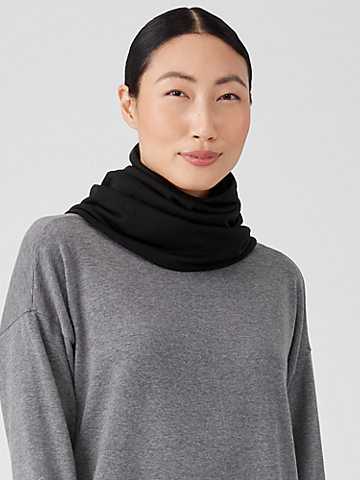 Cozy Brushed Terry Infinity Scarf