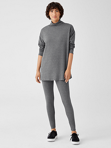Cozy Brushed Terry High Waisted Leggings