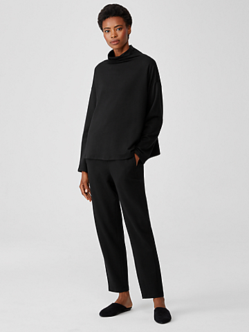 Cozy Brushed Terry Slouchy Pant