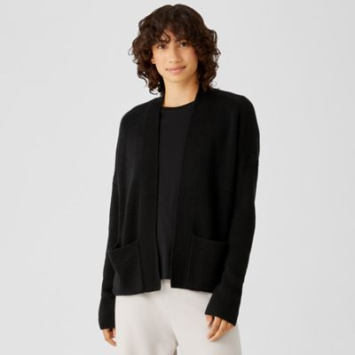 Merino Cardigan in Responsible Wool