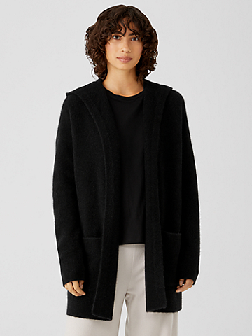 Cashmere Silk Bliss Hooded Cardigan