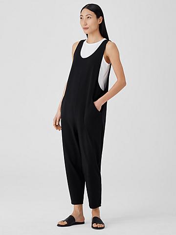Traceable Organic Cotton Jersey Slouchy Jumpsuit