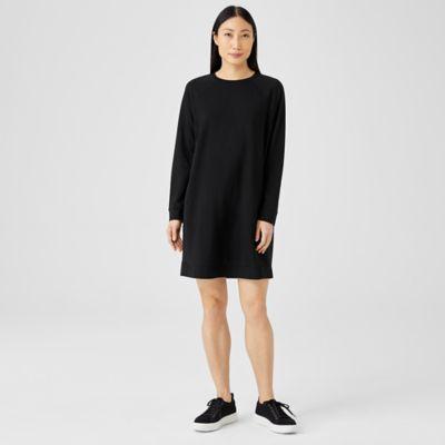 Traceable Organic Cotton Jersey Raglan-Sleeve Dress