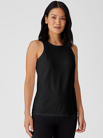 Traceable Organic Cotton Jersey Round Neck Tank