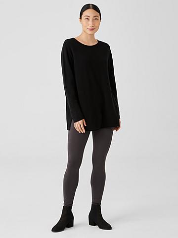 Stretch Jersey Knit Leggings