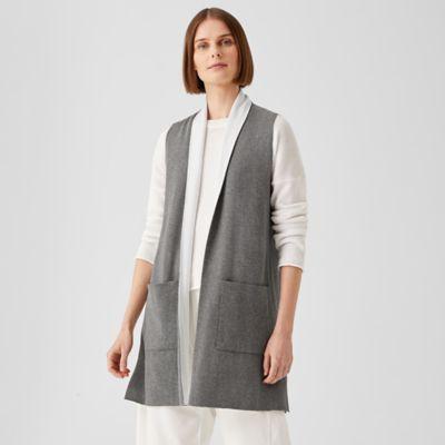 Peruvian Organic Cotton Blend Long Vest