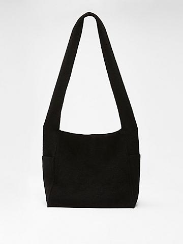 Lightweight Boiled Wool Crossbody Bag in Responsible Wool