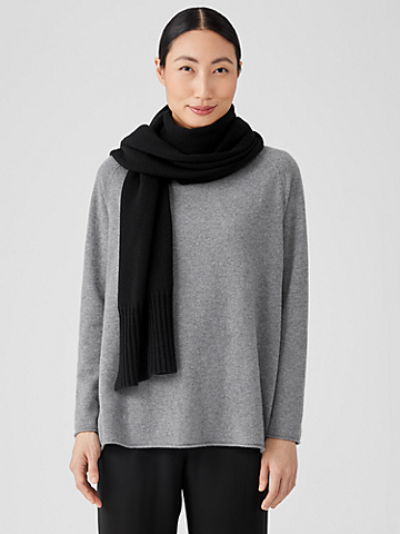 Recycled Cashmere Wool Wrap