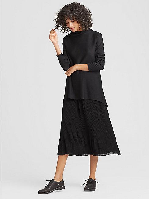 Recycled Polyester Chiffon Skirt