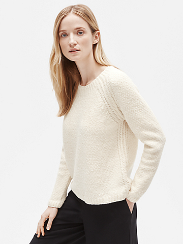 Organic Cotton Round Neck Box-Top