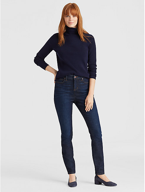Organic Cotton High-Waisted Skinny Jean
