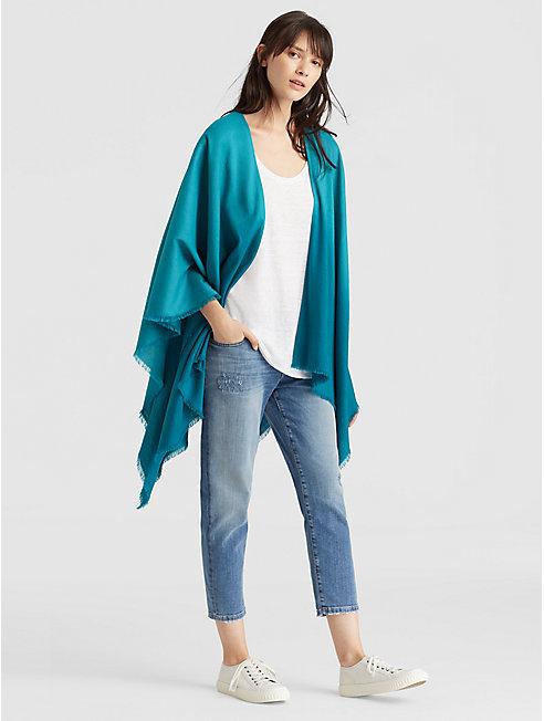 Silk Wool Ombre Serape