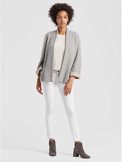 Lofty Recycled Cashmere Kimono Cardigan