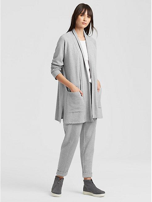 Tencel Organic Cotton Fleece Cardigan