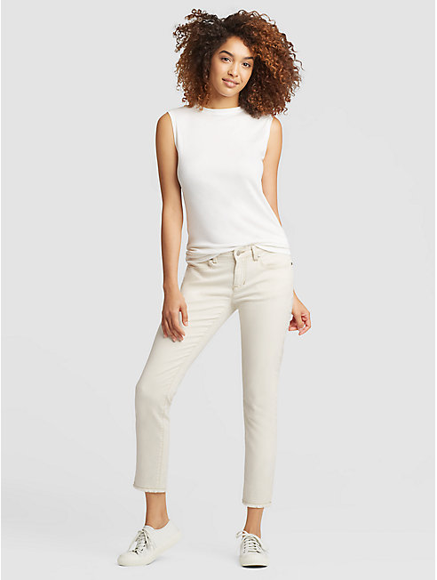 Undyed Organic Cotton Stretch Slim Jean