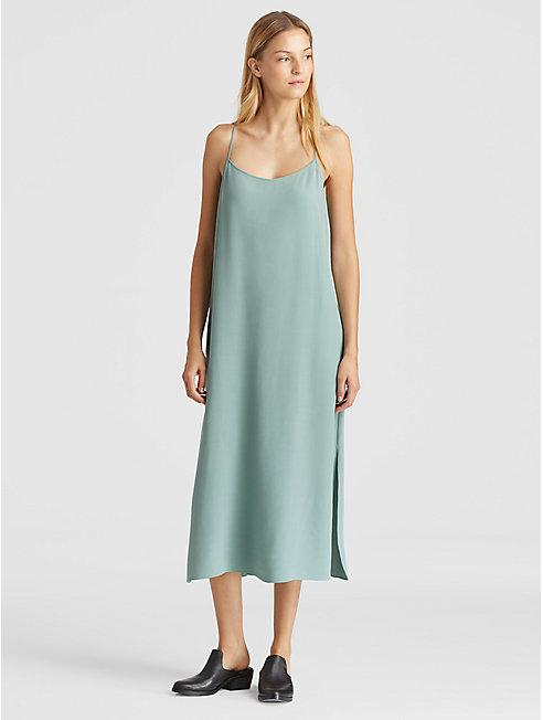 Tencel Viscose Crepe Slip Dress