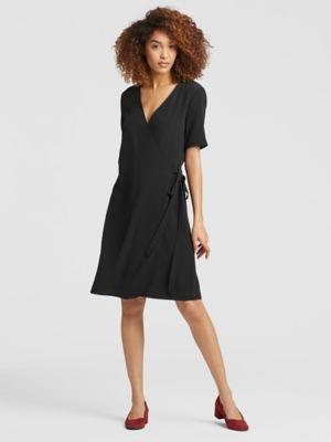 Sale alerts for  Tencel Viscose Crepe Wrap Dress - Covvet