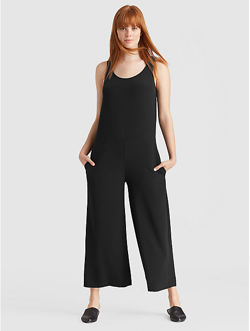 Tencel Viscose Crepe Jumpsuit
