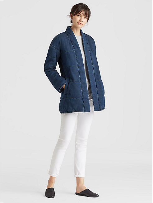 Tencel Organic Cotton Quilted Jacket