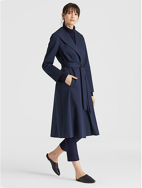 Organic Cotton Twill Coat