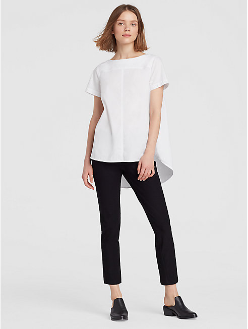 Organic Cotton A-Line Top