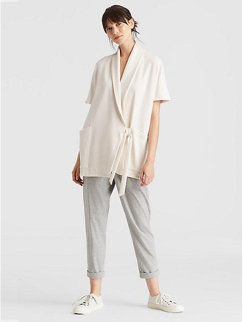 Organic Cotton Terry Kimono Jacket