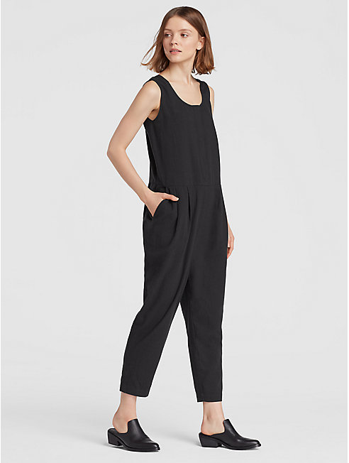 Organic Cotton Crepe Jumpsuit