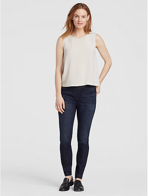 Organic Cotton Jean Leggings