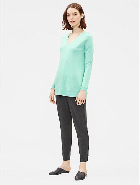 Merino Jersey Slim Tunic