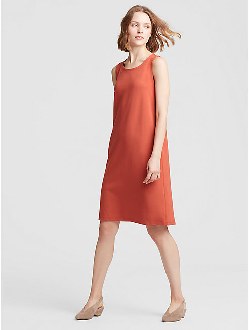 Organic Cotton Jersey Shift Dress