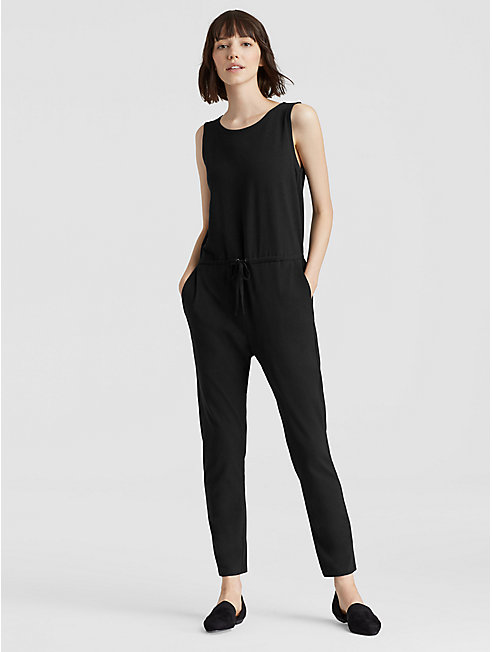 Organic Cotton Jersey Slouchy Jumpsuit