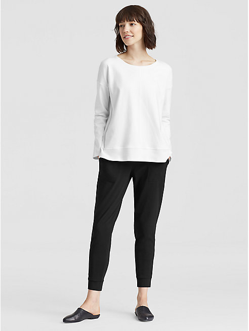 Organic Cotton Jersey Slouchy Pant