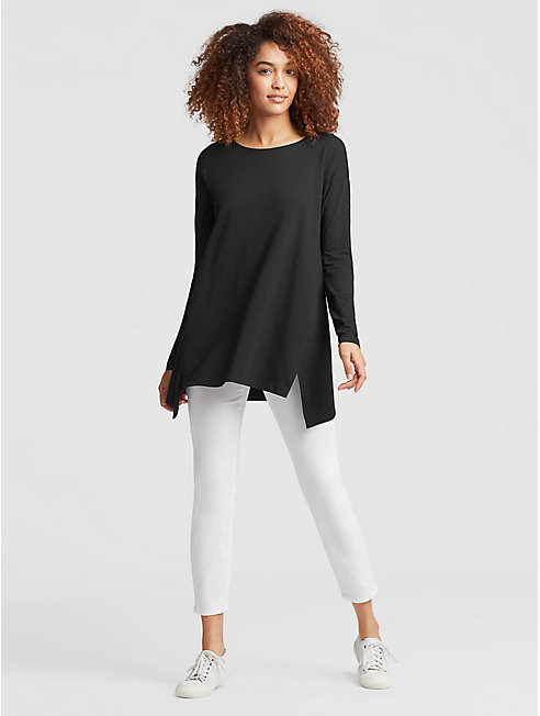 Organic Cotton Jersey Tunic